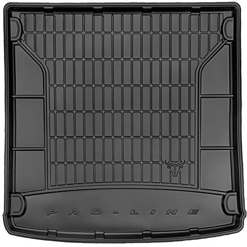 DBS Tapis de Coffre Auto - sur Mesure - Bac de Coffre pour Voiture - Rebords Surélevés - Caoutchouc Haute qualité - Antidérapant - Simple d'entretien - 1766527