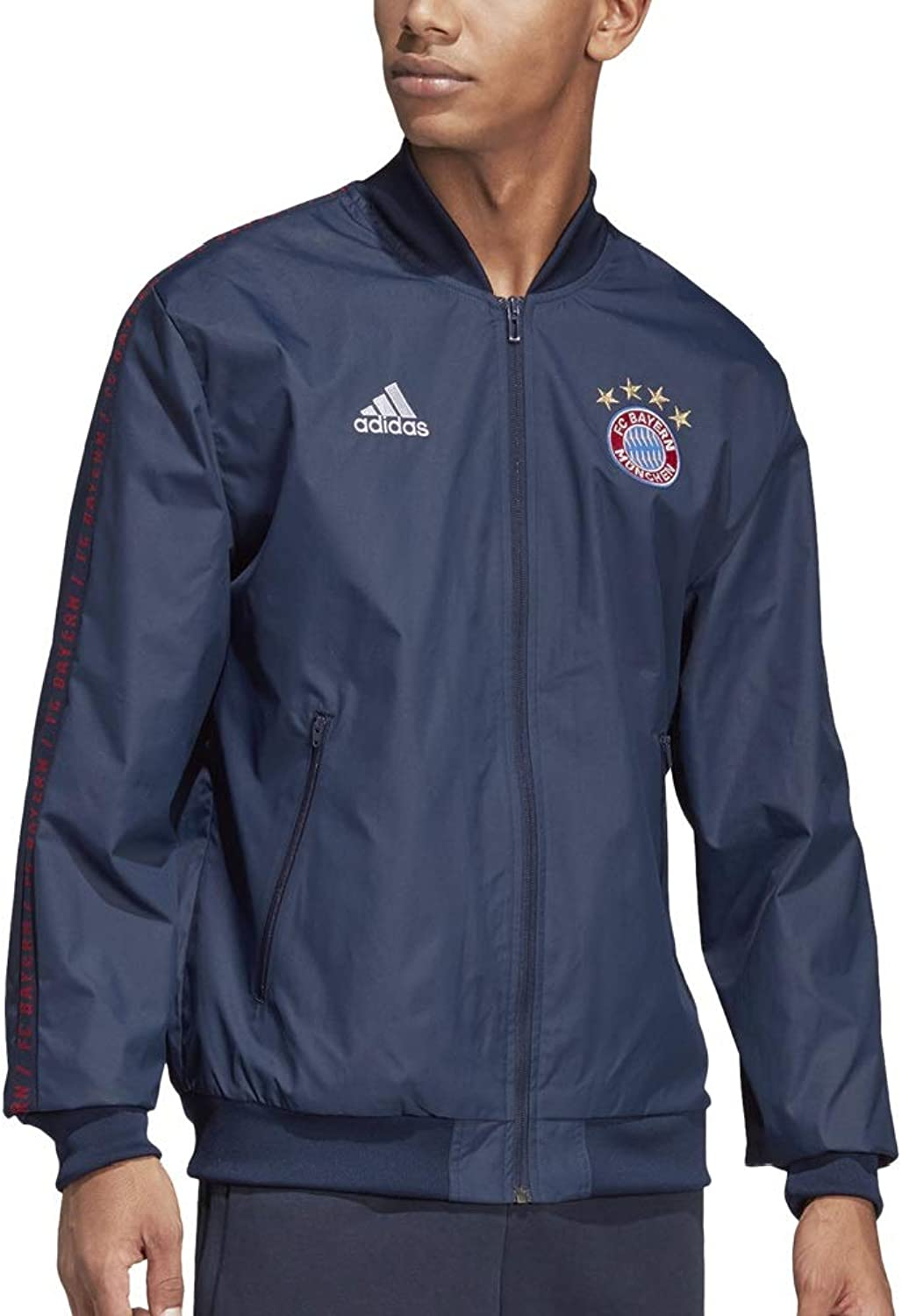 Adidas Men's FC Bayern Munich Anthem Jacket