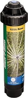Rain Bird 12SAF High-Efficiency Mini Rotary Pop-Up Spray, 360° Full Circle Pattern, 13' - 18' Spray Distance, 4