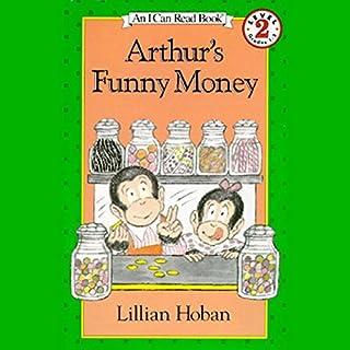 Arthur's Funny Money audiobook cover art