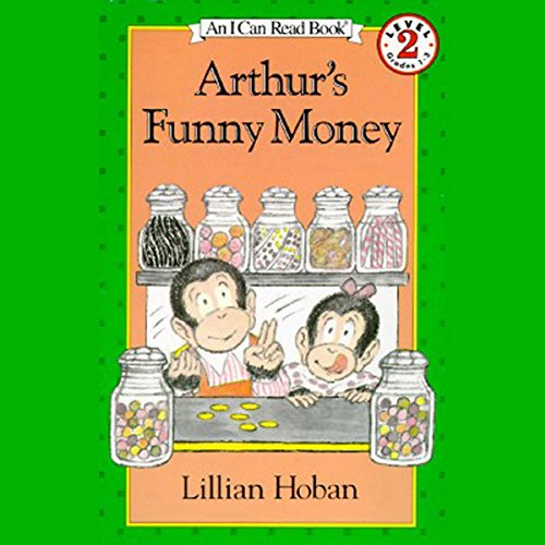 Arthur's Funny Money audiobook cover art
