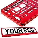 Taport®–soporte de matrícula para cualquier tipo de coche, furgoneta, camión, remolque