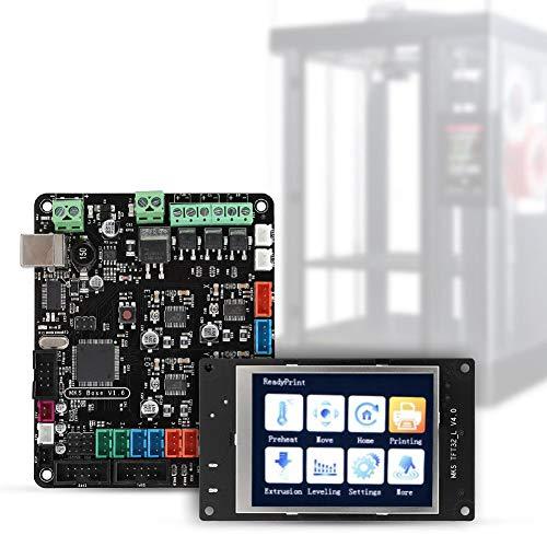 Wendry Motherboard-kit voor 3D-printers, MKS Base V1.6 MKS TFT 32-bits kleurendisplay Mega2560 Ramps1.4 voor 3D-printeraccessoires, hoogwaardige 2-laags printplaat, SOP-pakket