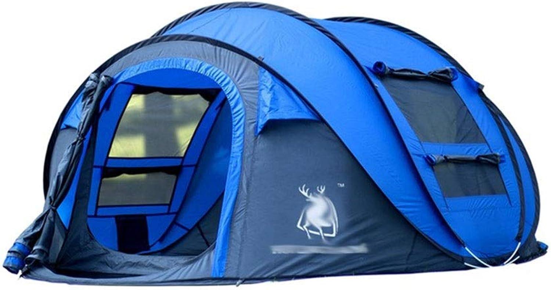 Tent, rainproof sunscreen Zelt-Freizeitmode 3-4 Personen beschleunigen die Abrechnung des Zeltes