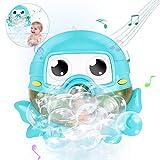 Gifort Juguete de Baño de Burbujas, Máquina Automática de Burbujas Que Sopla Bubble Maker con Música de Canción de Cuna para Bebés y Niños