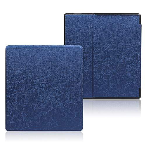 YYS Capa Kindle Oasis – Capa inteligente de couro de poliuretano premium à prova d'água com recurso de ativação automática para Kindle Oasis 9ª geração (34 padrões disponíveis)