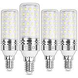 HZSANUE E14 Bombillas Maíz LED 15W, LED Bombillas Candelabros, 6000K Blanco Frío, 1500LM, Bombillas Incandescentes de 120W Equivalentes, No Regulable, Paquete de 4