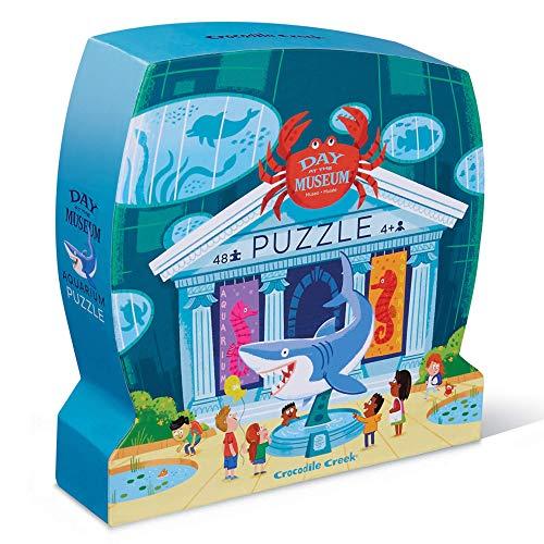 Bertoy 384063-3 Day at Aquarium - Puzle de Suelo (45,72 x 60,96 cm), Color Azul y Verde (Juguete)