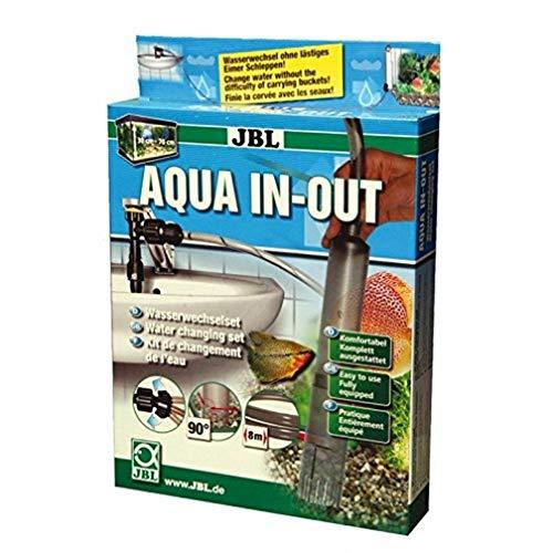 JBL Aqua In Out Wasserwechselset für Aquarien zum Anschluss an den Wasserhahn, 61430