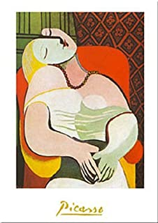 Buyartforless The Dream by Pablo Picasso 28x20 Art Print Poster