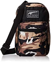 PUMA Unisex-Adult Small Shoulder Bag, Black - 0757342