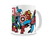 Marvel Oficialmente Licenciado Heroes Taza cerámica de café
