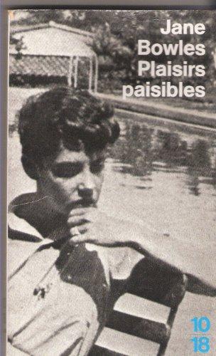 Plaisirs paisibles PDF Books