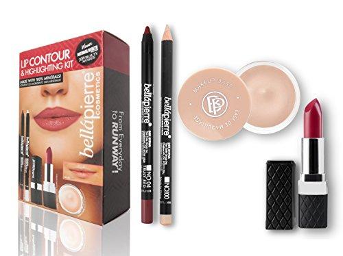 bellapierre COSMETICS Coffret Contour des Lèvres Red 1 g