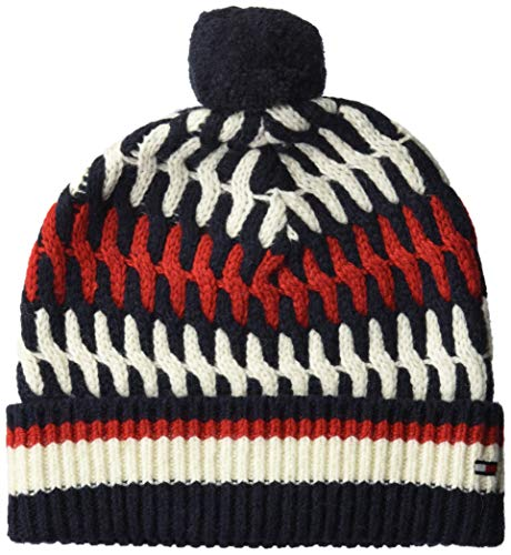 Tommy Hilfiger heren gebreide muts TAILORED CABLE BEANIE