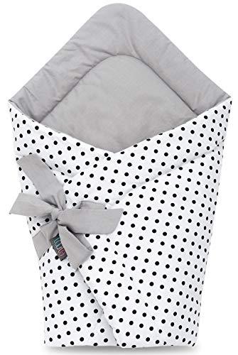 Mantita para bebés recién nacidos, hecha con algodón suave al 100 %...