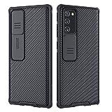 NILLKIN Funda Samsung Note 20, [Protección de la cámara] Estuche híbrido Parachoques Premium no voluminoso Delgado Funda rígida para PC para Samsung Note 20