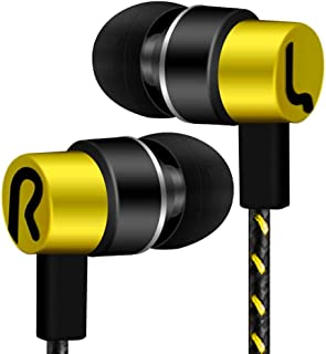 Huphoon Universal 3.5mm in-Ear Stereo Earbuds Earphone Headset Compatible with Cell Phone