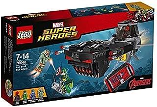 LEGO Marvel Super Heroes Iron Skull Sub Attack 76048