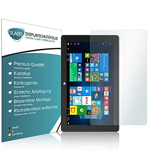 Slabo 2 x Bildschirmschutzfolie für TrekStor SurfTab Twin 11,6 Bildschirmschutz Schutzfolie Folie Crystal Clear KLAR