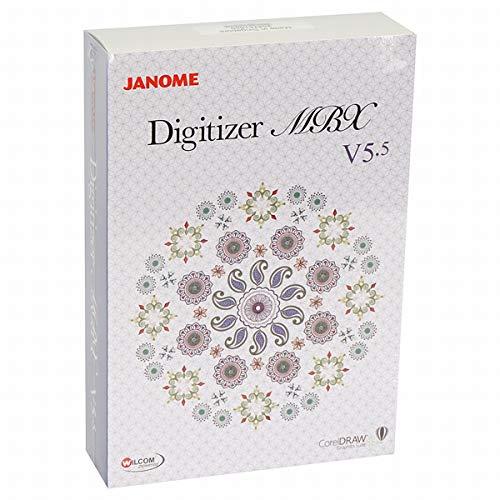 Janome Digitizer MBX V5.5 (Vollversion), neustes Stickdesign-Programm zur individuellen Stickmuster-Herstellung