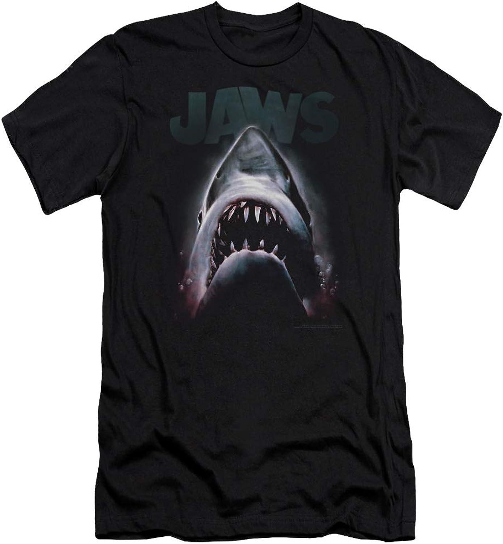 2e01cf96d Jaws in The Deep Premium Slim Fit TShirt Mens Terror nueuhb2541 ...