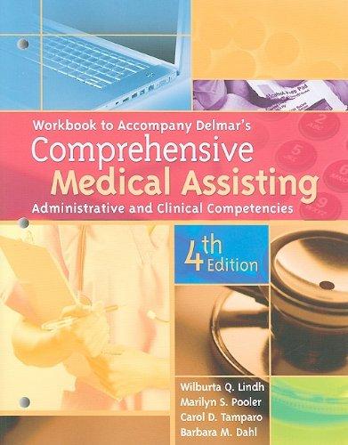 Workbook for Delmar's Comprehensive Medical Assisting:...