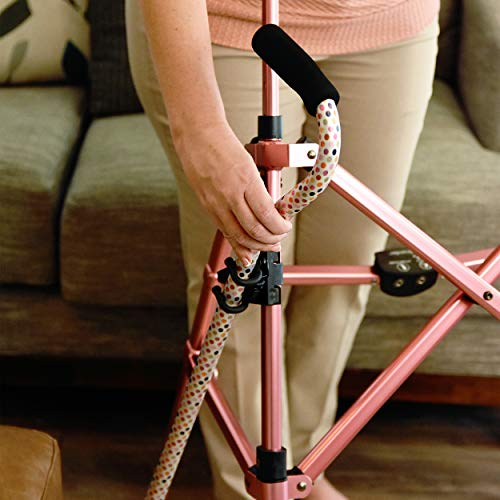Easy to Use Products Mobility Dual Hooks - Bag, Cane, or Light Holder