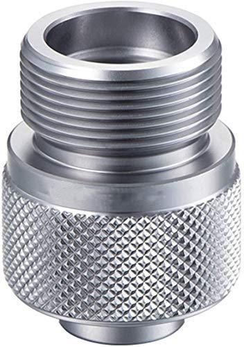 DUDDP Gas Adaptador Adaptador de Estufa de Gas para Acampar al Aire Libre Tanque de válvula de Lavado de Utensilios de Cocina de Soldadura Torch de Soldadura Adaptador Fácil Almacenamiento