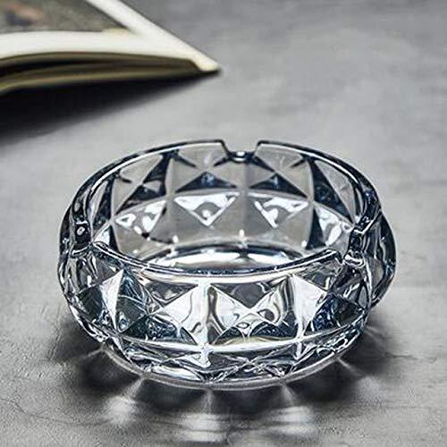 LLK 1 stück kreative kristall Glas ashebays europäischen Stil Mode runde Wohnzimmer Schreibtisch büro Schalter ash lagerungsfach