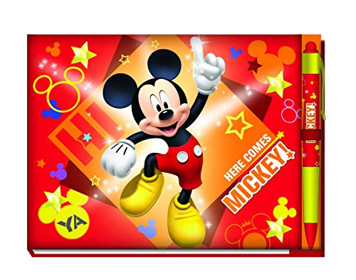 Disney Mickey Deluxe Autograph Book with Pen