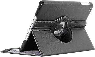 ebestStar - Coque Compatible avec iPad Mini 1/2/3 Apple Housse Protection Etui PU Cuir Support Rotatif 360, Noir [Appareil: 200 x 134.7 x 7.2/7.5mm, 7.9'']