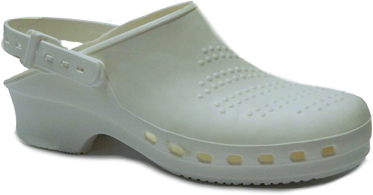 Toffeln Steri-Klog 058 Washable autoclavable Clogs - White