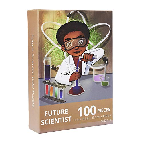 Future Scientist Kids' Jigsaw Puzzle by Puzzle Huddle (14in x 19.5in) - 100 Pieces