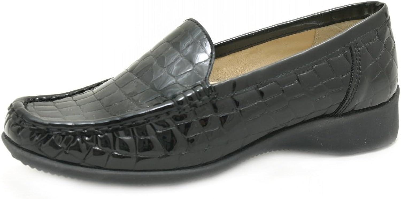 ARA Damen Slipper Atlanta 12-40101-08 - schwarz 36586