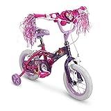 "Huffy 12"" Disney Princess Girls Bike with Training Wheels, Pink/Purple"