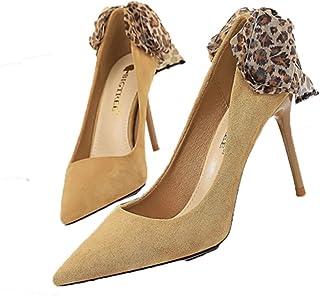 Dames Dunne Hakken Stiletto's Instappers Schoenen Mode Lente Herfst Gesloten Toe Pumps Puntschoen Hoge Hakken