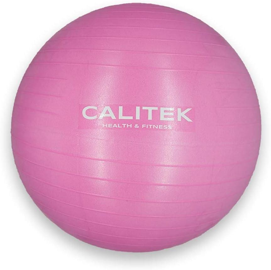 CALITEK Balle suisse anti-/éclatement pour yoga grossesse accouchement Pilates
