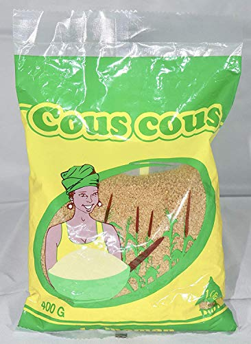 Thiéré Tiéré Couscous Senegalese Cuscus 400 grams 100% Whole Grain Gluteen Free from Senegal
