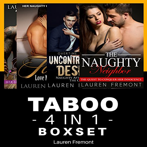 Taboo: 4 in 1 Boxset audiobook cover art