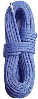 leefitness 10 mm Static Outdoor Rock Climbing Rope, Fire Escape Safety Rappelling Rope 32_ft, 64_ft, 96_ft Optional