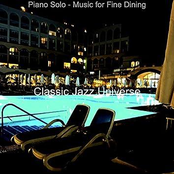 Piano Solo - Music for Fine Dining