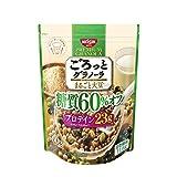 ごろっとグラノーラ まるごと大豆 糖質60% オフ 360g ×6袋
