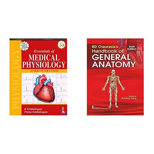 Essentials Of Medical Physiology + BD CHAURASIAS HANDBOOK OF GENERAL ANATOMY 6ED (PB 2020) (Set of 2 Books)