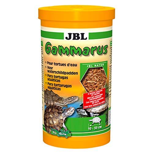 JBL Gammarus Nourriture pour Tortue Aquariophilie 1 L - Lot de 2