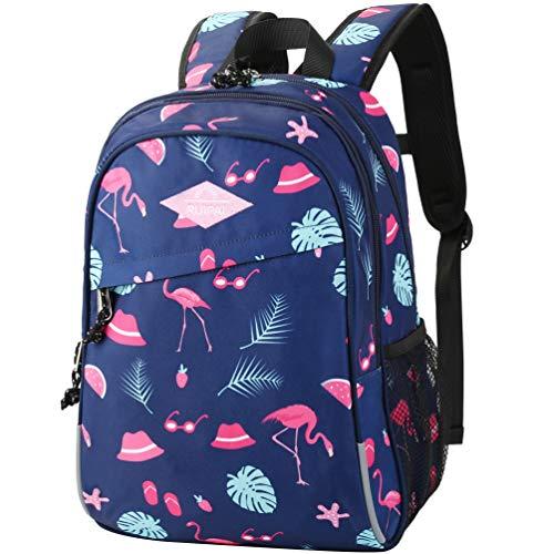 VBG VBIGER School Backpack Kids Backpack Cute Elementary Bookbag with Animal Pattern for Boys Girls