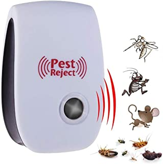 Multi-purpose Ultrasonic Pest Repeller Electronic Mosquito Killer Reject Bug Mosquito Cockroach Mouse Pest Killer Repeller...