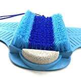 Volbit Foot Scrubber for Shower with Pumice Stone for Feet, Foot Exfoliator