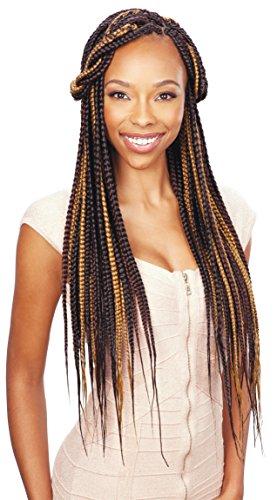 Model Model Silky Touch Jumbo Braid 100% Premium Soft Kanekalon Braiding Hair (1B)