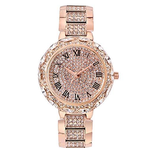 Damen Uhren mit Stretchband for kleines Handgelenk, peugeot seiko analoger Quarzuhr mit, dekorative Uhr Schöner Uhr, geeignet for Frauen am Arbeitsplatz, Studenten, vorzügliches Zifferblatt, Edelstahl